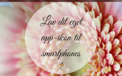 Lav dit eget webstedsikon til smartphones